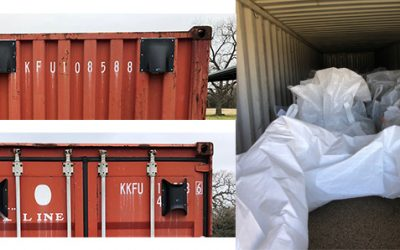 Storing Grain in Containers – Moisture Control Field Test