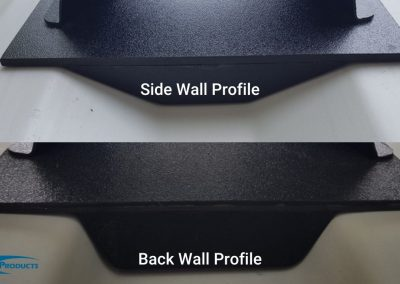 Screen Shapes for Side Walls and Back Walls