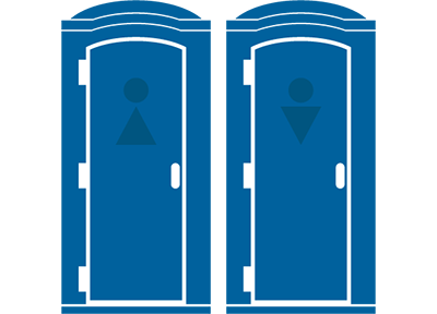 Portable Restroom icons