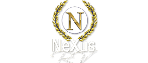 Nexus RV Logo Gold and White
